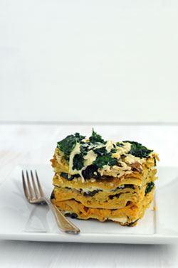 Vegan Pumpkin Parsnip Lasagna